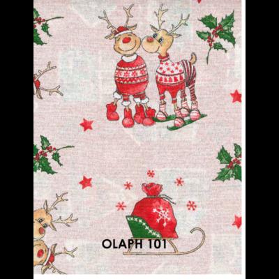 Loneta karácsony mintás terítő 100x140 TÖBB MINTÁVAL